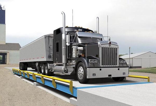 BMC HD Concrete Deck Truck Scale